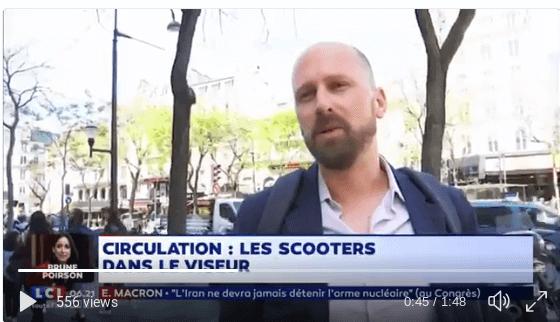 💥🛵 La guerre contre les scooters est déclarée ! (via @LaMatinaleLCI)
