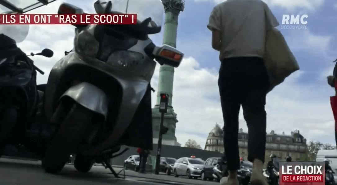 Piétons et cyclistes se mobilisent contre les scooters qui «se croient tout permis» (via rmc.bfmtv.com)