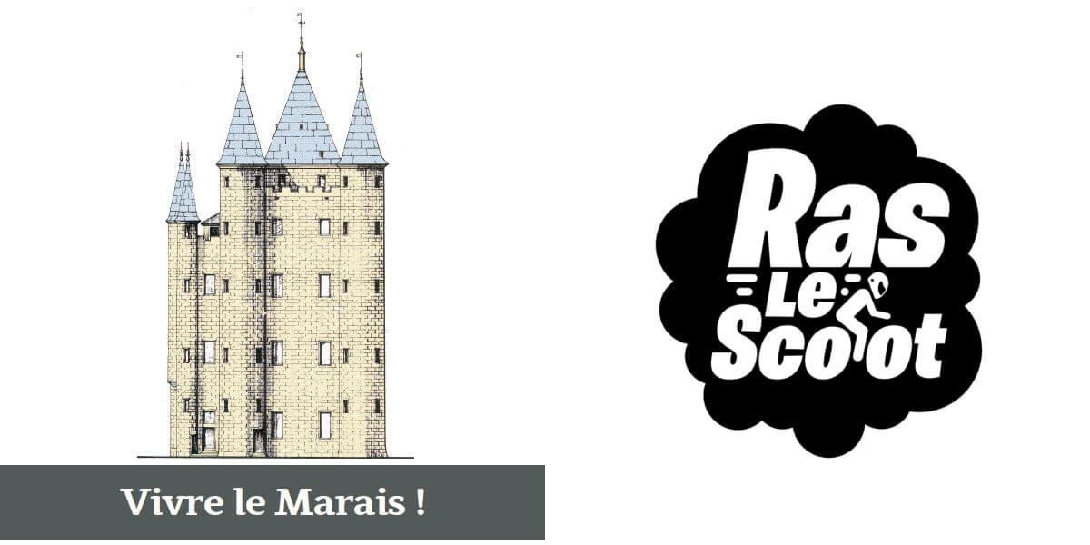 L'association «Vivre le Marais !» rejoint le collectif Ras Le Scoot